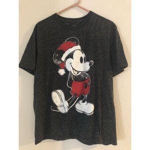Santa Mickey Mouse T Shirt